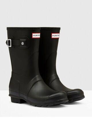 Hunter Women's Original Short Boot Black