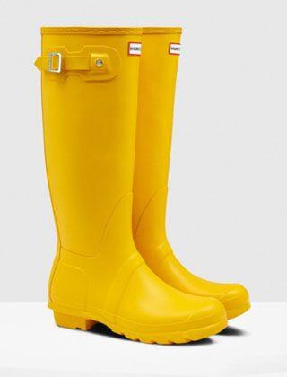 Hunter Women's Original Tall Boot Yellow