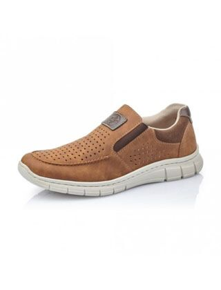 Rieker Timo Slip On Shoes Brown