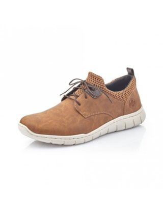 Rieker Timo Lace Up Shoes Brown