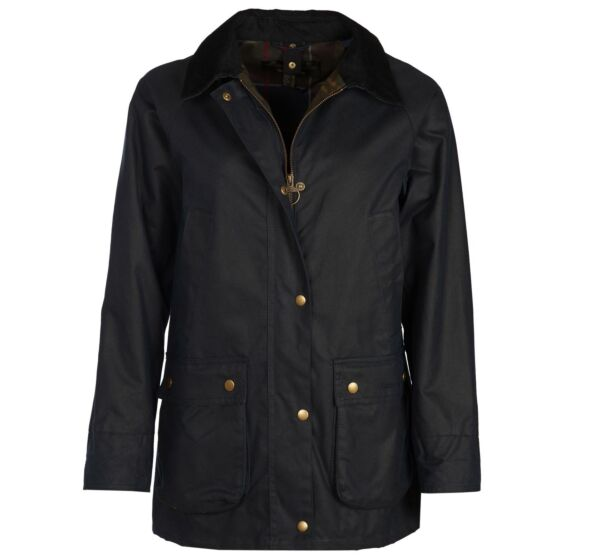 Barbour Acorn Wax Jacket Navy