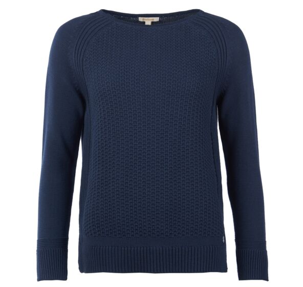 Barbour Bridport Knitted Sweater Navy