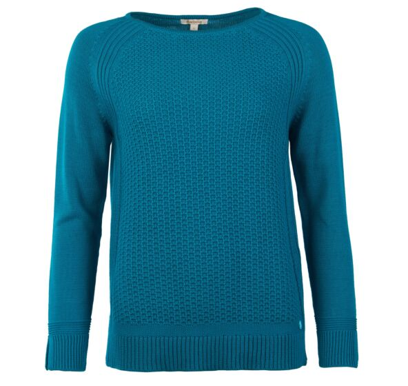 Barbour Bridport Knitted Sweater Seaglass