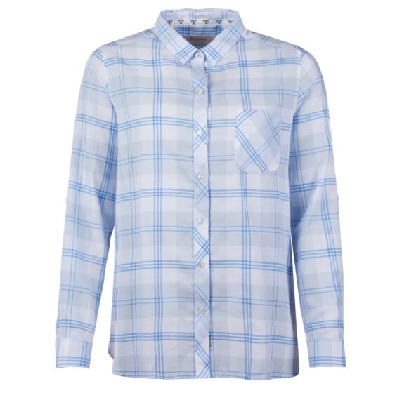 Barbour Foreland Shirt Pale Blue