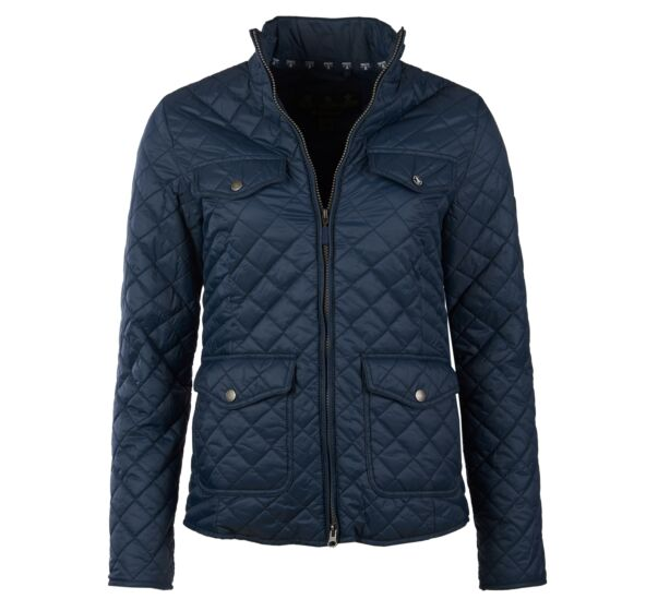 Barbour Formby Quilted Jacket Navy