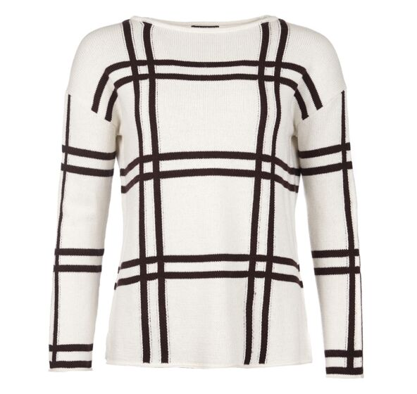 Barbour Munro Knit Sweater Cloud