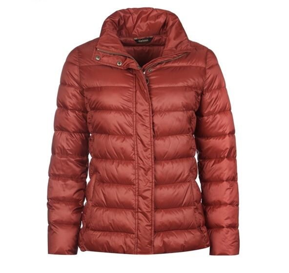 Barbour Farne Quilt Jacket Red