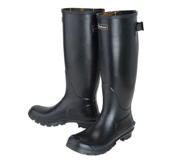 Barbour Womens Jarrow Wellington Boots Black
