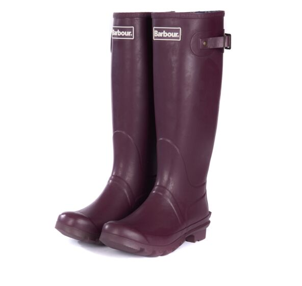 Barbour Women's Bede Wellingtons Aubergine