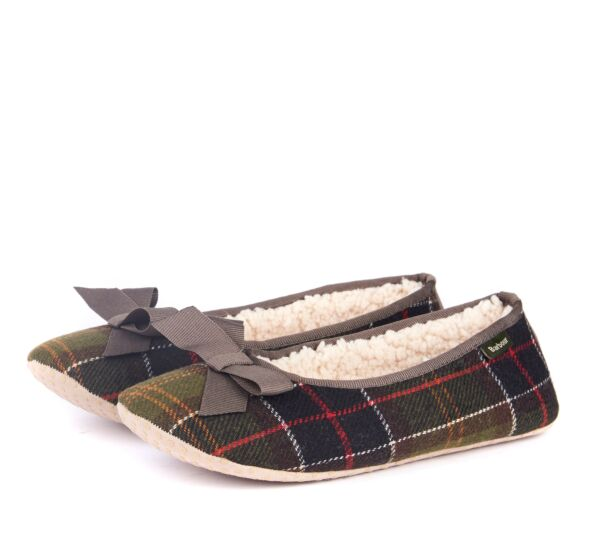 Barbour Lily Slippers Classic Tartan