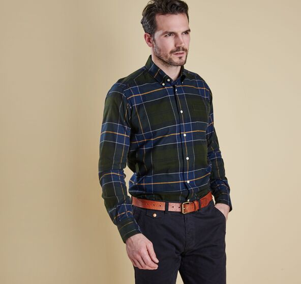 Barbour Lustleigh Shirt Forest