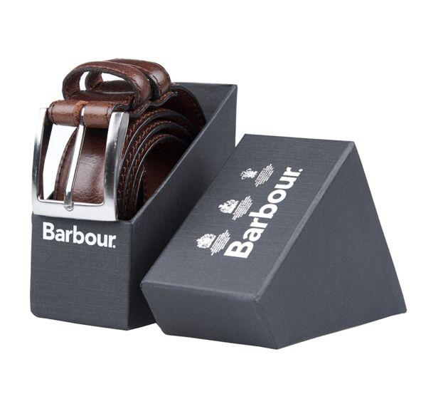 Barbour Belt Giftbox Dark Brown