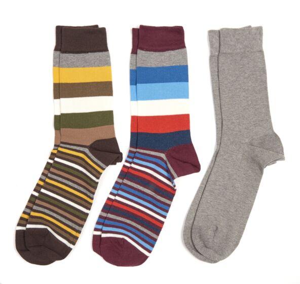 Barbour Heywood Socks Giftbox of Three