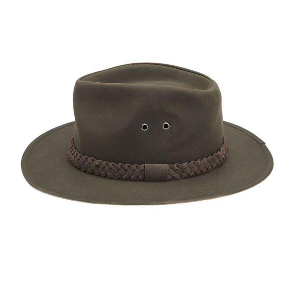 Barbour Wax Bushman Hat Olive