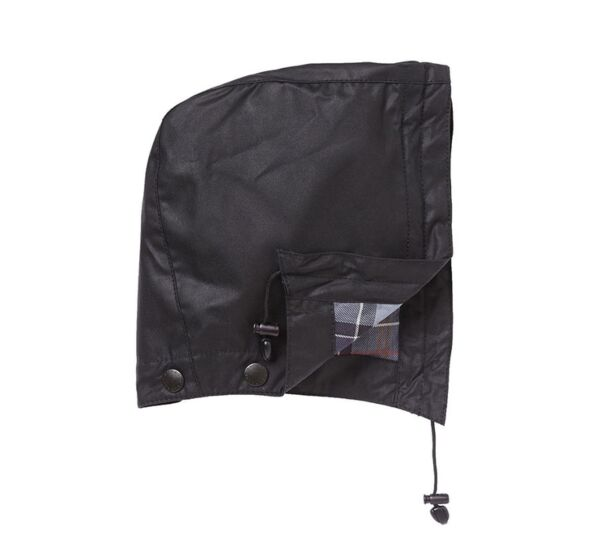 Barbour Wax Cotton Hood Black