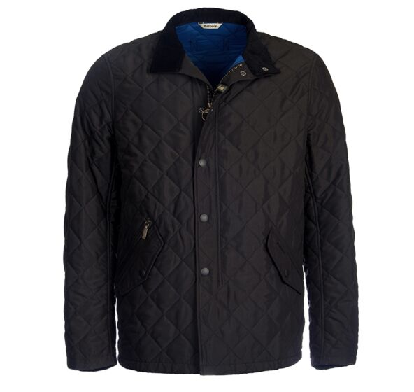 Barbour Shoveler Quilt Jacket Black
