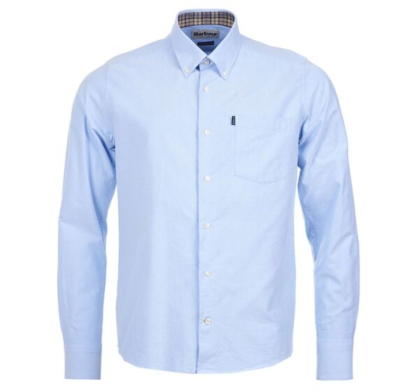 Barbour The Oxford Shirt Sky Blue