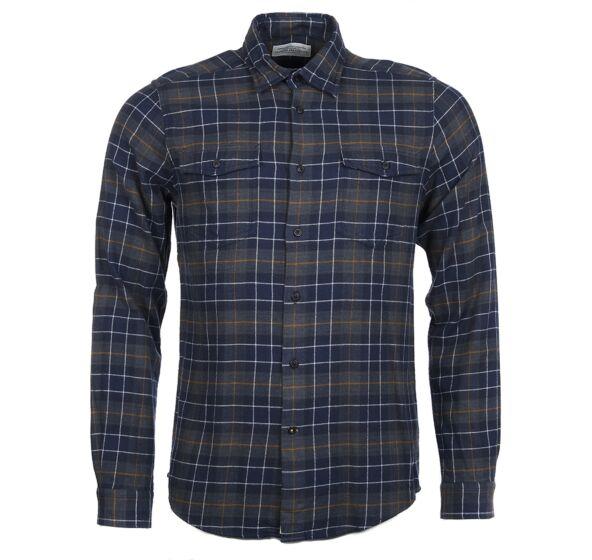 Barbour Keel Shirt Navy