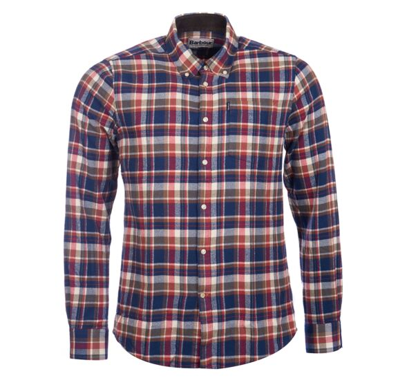 Barbour Blake Shirt Red