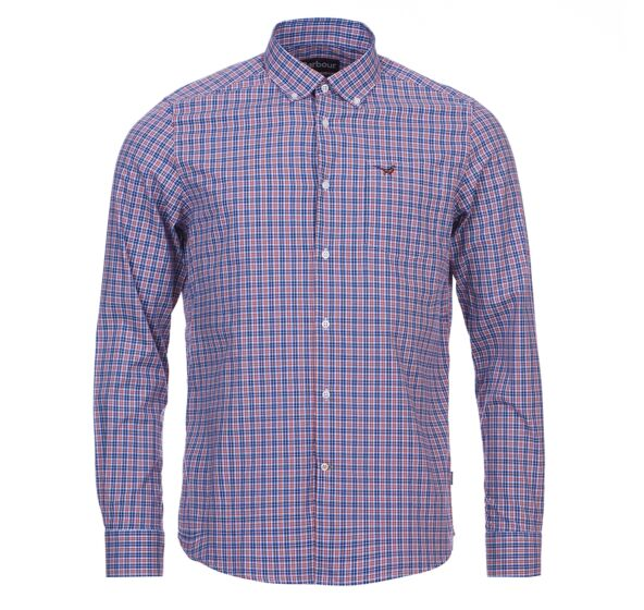 Barbour Cawdor Shirt Sky Blue
