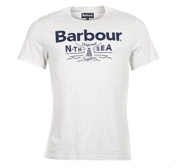 Barbour Cove T- Shirt Ecru Marl