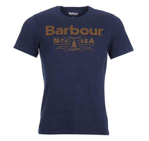 Barbour Cove T-Shirt Regal Marl