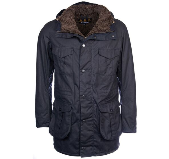Barbour Oakum Wax Jacket Navy