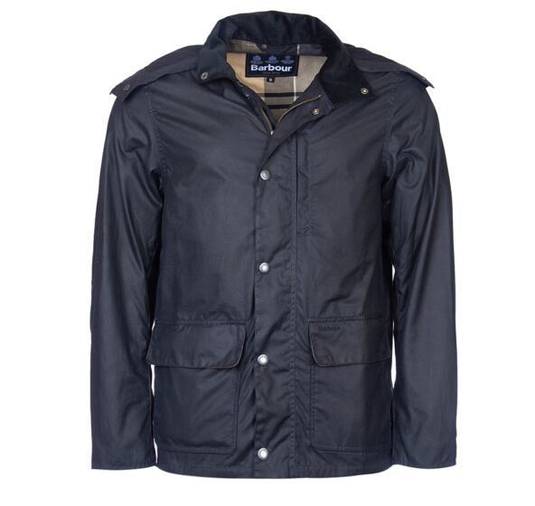 Barbour Dulwich Wax Jacket Navy