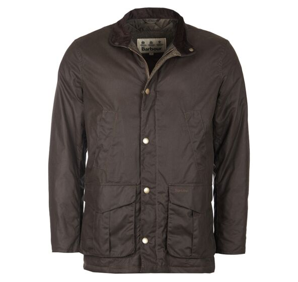 Barbour Hereford Wax Jacket Peat