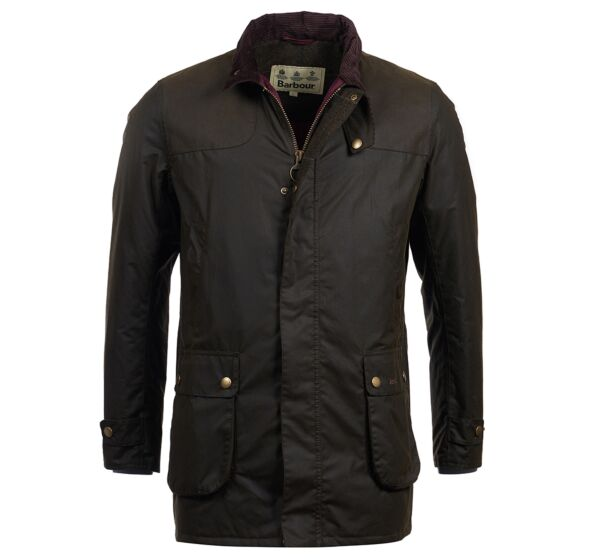 Barbour Cartmel Wax Jacket Olive
