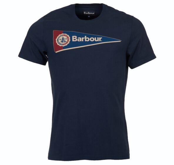 Barbour Pennant T-Shirt Navy