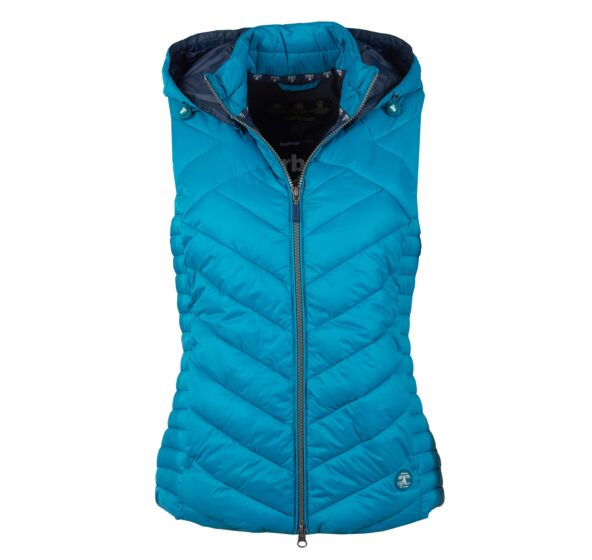 Barbour Pentle Quilted Gilet Sea Glass
