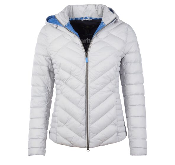 Barbour Pentle Quilted Jacket Ice White