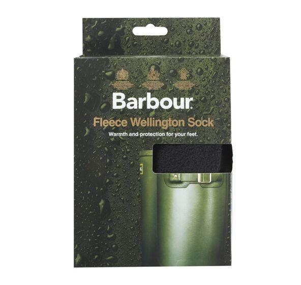Barbour Fleece Wellington Socks Black