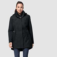 Jack Wolfskin Women's Madison Avenue Coat Phantom