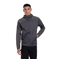 Berghaus Men's Sidley Hooded Fleece Jacket Grey/Pinstripe