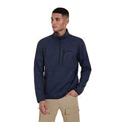 Berghaus Men's Carnell Fleece Half Zip Mood Indigo