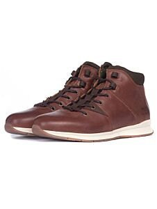 Barbour Dunston Hiker Boots Brown