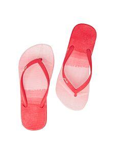 Joules Women's Flip Flops Pink Ombre