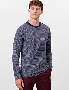 Joules Haydock Long Sleeve T-Shirt Navy Stripe