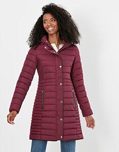 Joules Cherington Padded Coat Dark Purple