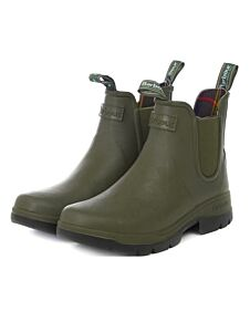 Barbour Mens Fury Chelsea Boots Olive