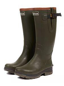 Barbour Men's Tempest Wellington Boot Olive