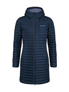 Berghaus Women's Nula Micro Long Synthetic Insulated Jacket Dusk
