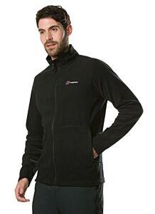 Berghaus Men's Micro Polartec Interactive Fleece Jacket Black