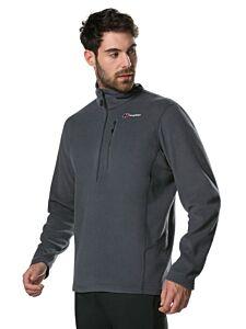Berghaus Men's Prism Micro Polartec Half Zip Fleece Dark Grey