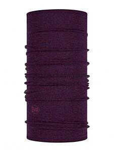 Buff Wear Lightweight Merino Wool Solid Deep Purple