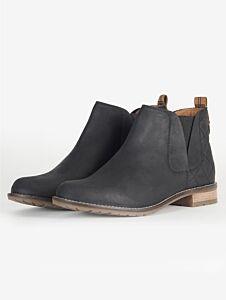 Barbour Maia Chelsea Boots Black