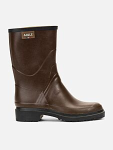 Aigle Women's Bison 2 Ankle Boots Brown