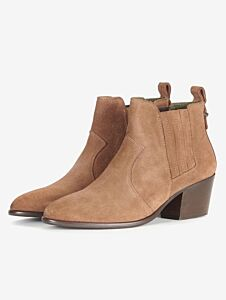 Barbour Matilde Chelsea Boots Tobacco Suede